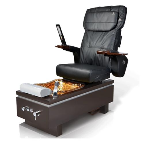 Katai Square Glass Spa Pedicure Chair