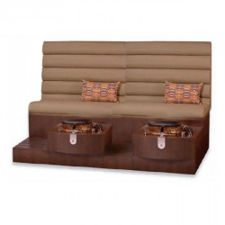 Kimberly Double Spa Pedicure Bench 1