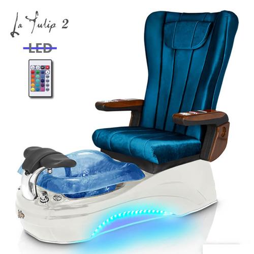 La Tulip 2 Spa Pedicure Chair