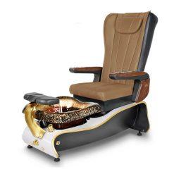 La Violette Spa Pedicure Chair Curry 1