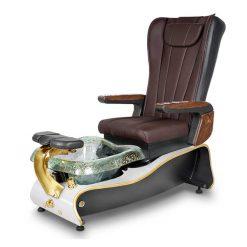 La Violette Spa Pedicure Chair Truffle 2