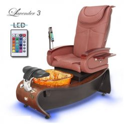 Lavender 3 Pedicure Spa Package