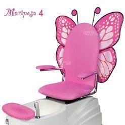 Mariposa 4 Spa Pedicure Pink