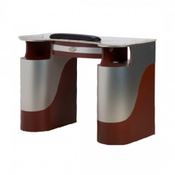Nail Table T-105G (Aluminum Burgundy)