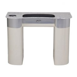 Nail Table T 108 (Beige / Aluminum)