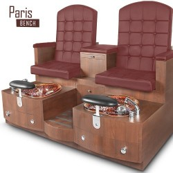 Paris Double Spa Pedicure Bench 12