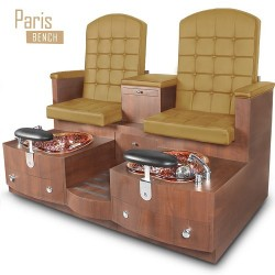 Paris Double Spa Pedicure Bench 14