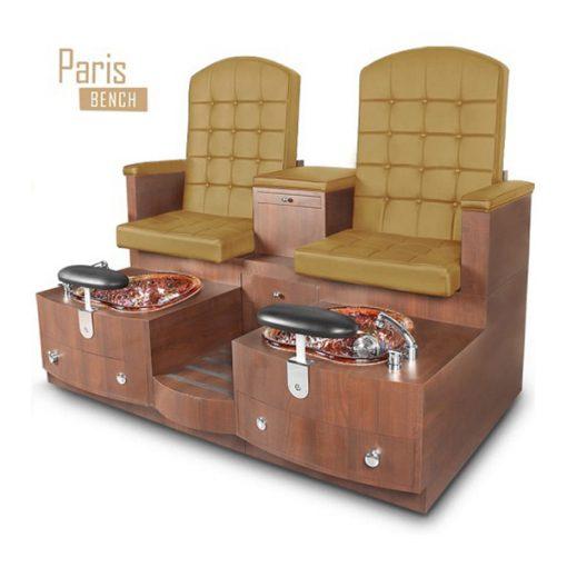 Paris Double Bench Spa Pedicure