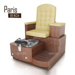 Paris Single Bench Fullwhite