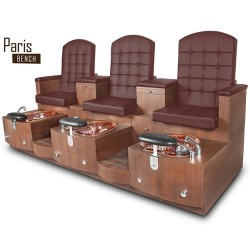 Paris Triple Spa Pedicure Bench 102