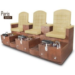 Paris Triple Spa Pedicure Bench 104