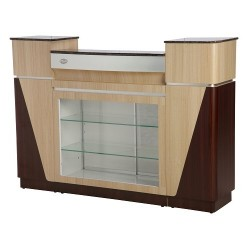 Reception Desk C 06 (Ash Rosewood) 020
