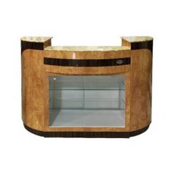 Reception Desk C 209 (Chestnut / Cherry)