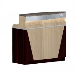 Reception Desk C 46 (Ash Rosewood)