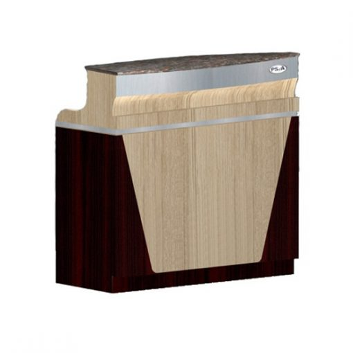 Reception Desk C 46 (Ash / Rosewood)