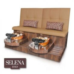 Selena Double Spa Pedicure Bench