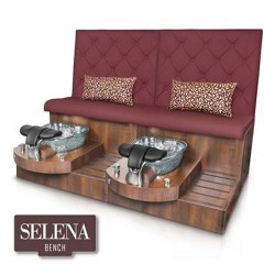 Selena Double Spa Pedicure Bench 030