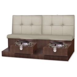 Tiffany Double Spa Pedicure Bench 010