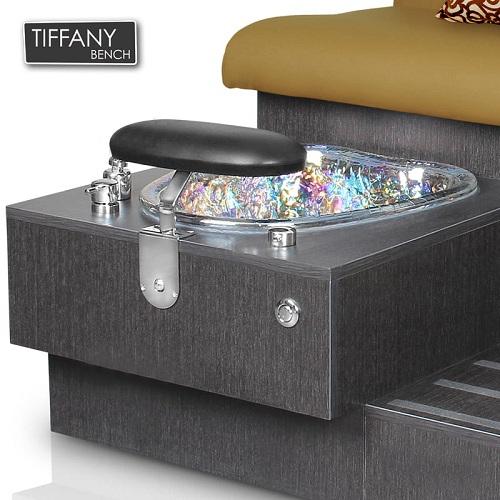Tiffany Double Spa Pedicure Bench