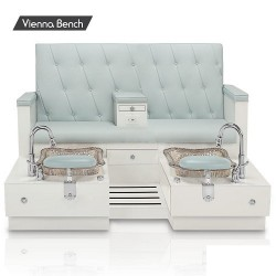 Vienna Double Spa Pedicure Bench 040