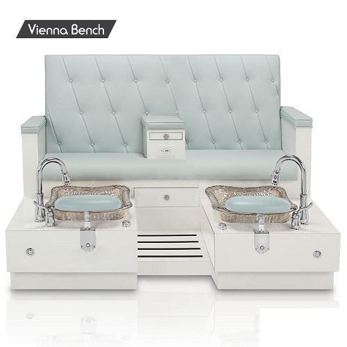 Super Vienna Double Spa Pedicure Bench Creativecarmelina Interior Chair Design Creativecarmelinacom