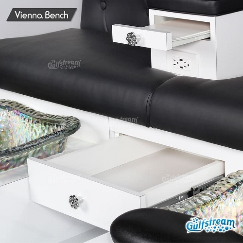 Vienna Double Spa Pedicure Bench