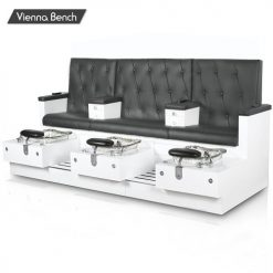 Vienna Triple Spa Pedicure Bench 247x247 - Regal nail store supply