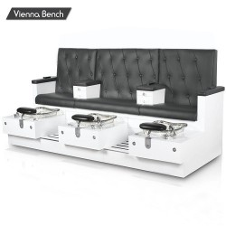 Vienna Triple Spa Pedicure Bench