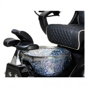 Alden Crystal Spa Pedicure Chair - 5a