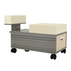 Alera Pedicure Trolley With Footrest 010