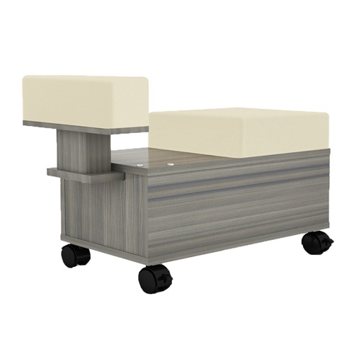 Alera Pedicure Trolley With Footrest