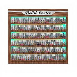 Atlanta Nail Polish Double Shelf LED