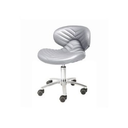 Chevron Pedicure Stool 1010L - 7a