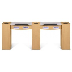 Classic Double Manicure Table - a2