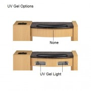 Classic Space Saver Manicure Table - 3a