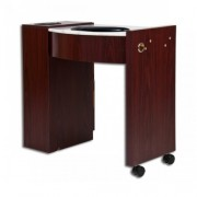 Classic Space Saver Nail Table Marble Top - 7a