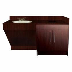 Contemporary Single Sink Cabinet - 2a