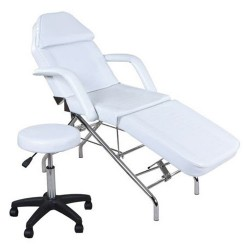 Facial Bed ZD-803 with Stool - 2a