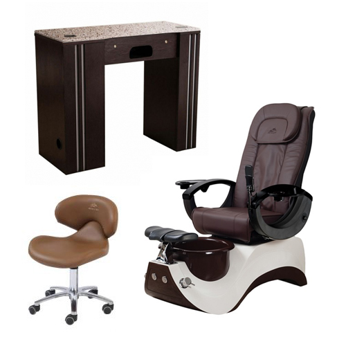 Free Manicure Table with Pedicure Chair NT#8