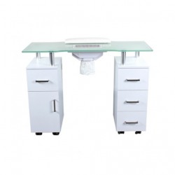 Glasglow Nail Table with Fan 000