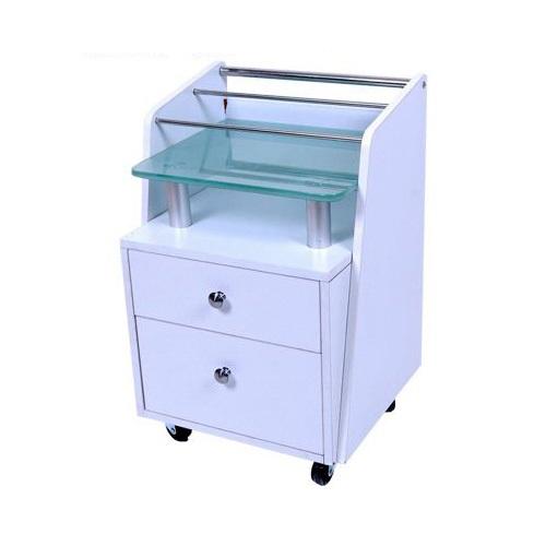Glass Top Pedicart