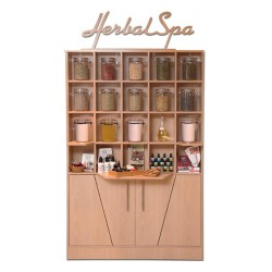Herbal display cabinet - 3a