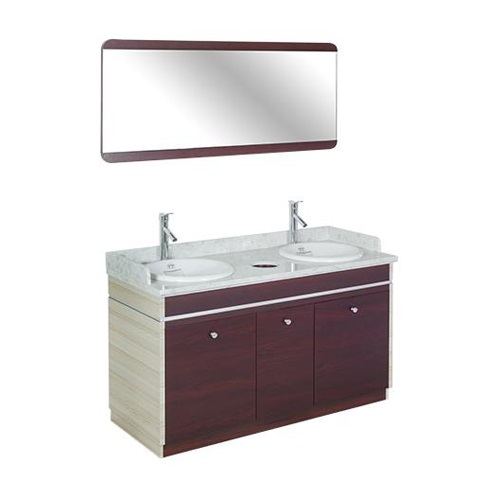 I Double Sink With Faucets – 55″