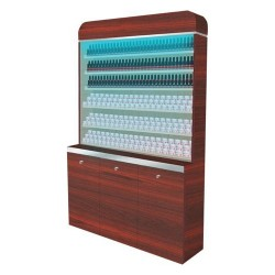 I Polish & Powder Rack With Gel Color & Powder Cabinet - 48 - 6a