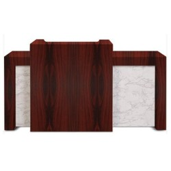 Marble Reception Counter - 2a