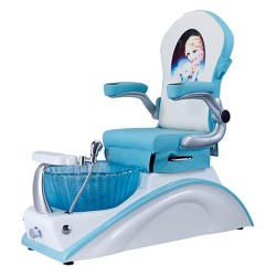 Mini Blue Kid Spa Chair - 1a