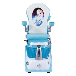Mini Blue Kid Spa Chair - 2a