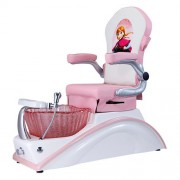 Mini Pink Kid Spa Chair - 1a