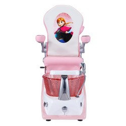 Mini Pink Kid Spa Chair - 3a