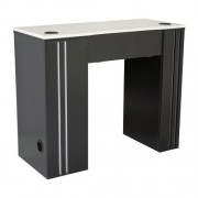 NM901 Manicure Table with UV Gel Hold - 1a